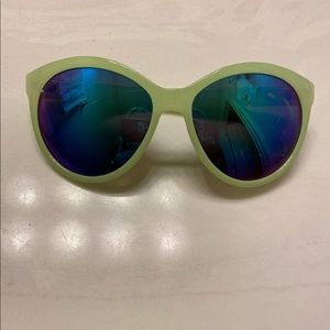 women's colored free people sunglasses